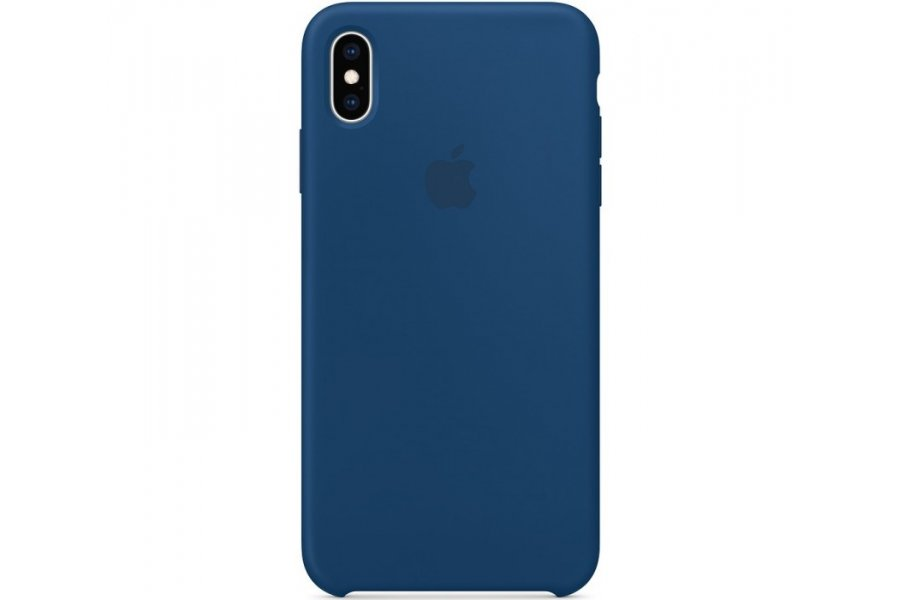Чехол Apple Silicone Case for iPhone Xs Max - Blue Horizon