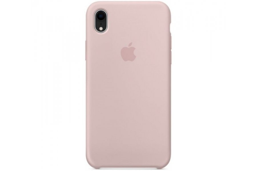 Силиконовый чехол Apple iPhone Xr Silicone Case OEM - Pink Sand