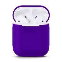 Чехол для AirPods silicone case Purple
