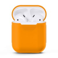 Чехол для AirPods silicone case Grapefruit