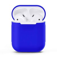 Чехол для AirPods silicone case Royal Blue