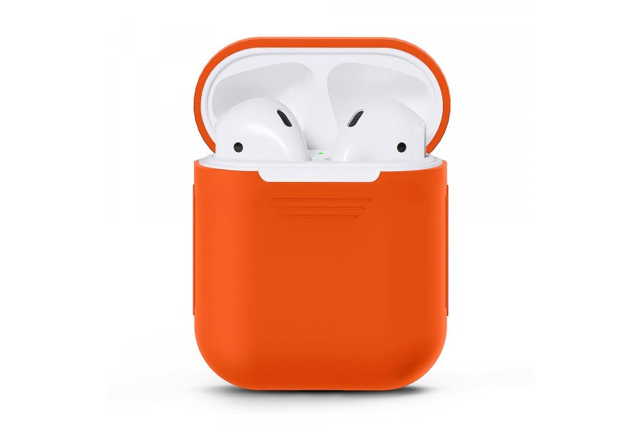 Чехол для AirPods silicone case Orange