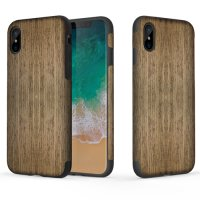 Чехол Rock Origin Series Till iPhone X. iPhone Xs - Wood