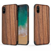 Чехол Rock Origin Series Till iPhone X. iPhone Xs - BrownWood