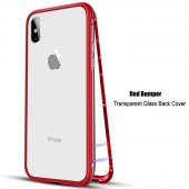 Magnetic Metal Bumper Red для iPhone X/Xs