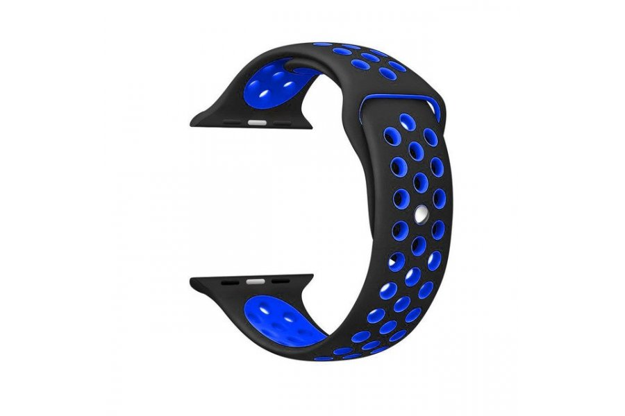 Ремешок Silicone with Black/Black Nike for Apple Watch 38/40/42/44mm