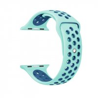 Ремешок Silicone with Mint Green Nike for Apple Watch 38/40/42/44mm