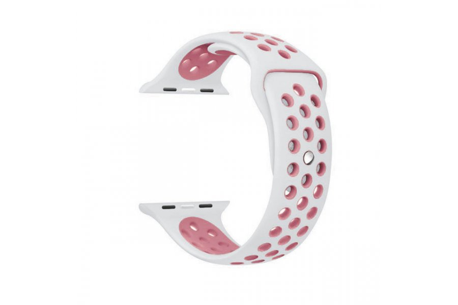 Ремешок Silicone Pink/Grey Nike for Apple Watch 38/40/42/44mm