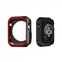 Чехол Silicone Nike for Apple Watch 40/44mm Red/Black