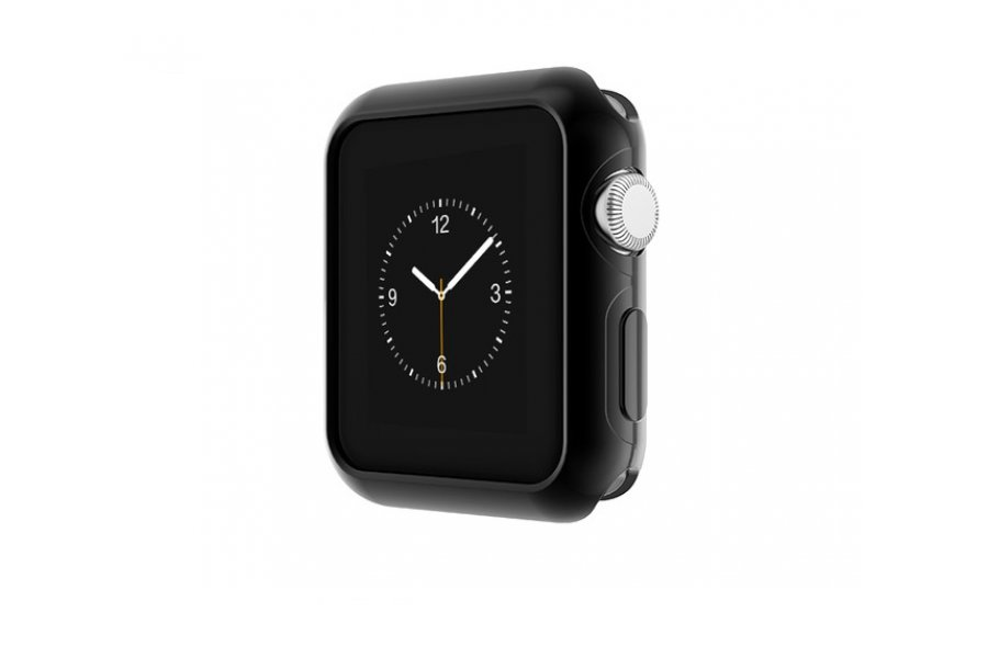 Чехол Apple Watch HOCO Silicone на 38/42мм Black
