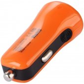 Baseus 2.1A Dual USB Car Charger Tiny-Color Orange