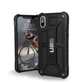 Чехол UAG Monarch Case для iPhone X/Xs Carbon Fiber
