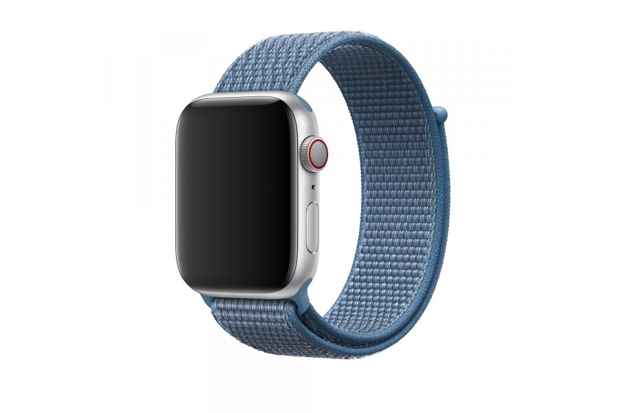 Ремешок для Apple Watch 38/40/42/44mm Sport Loop Cape Cod Blue