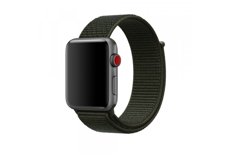 Ремешок для Apple Watch 38/40/42/44mm Sport Loop Nike Cargo Khaki