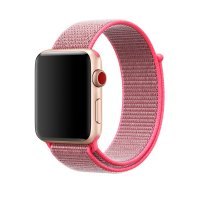 Ремешок для Apple Watch 38/40/42/44mm Sport Loop Hot Pink