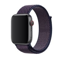 Ремешок для Apple Watch 38/40/42/44mm Sport Loop Indigo