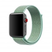 Ремешок для Apple Watch 38/40/42/44mm Sport Loop Marine Green