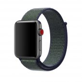 Ремешок для Apple Watch 38/40/42/44mm Sport Loop Nike Midnight Fog