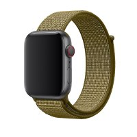 Ремешок для Apple Watch 38/40/42/44mm Sport Loop Nike Olive Flak