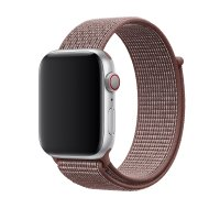 Ремешок для Apple Watch 38/40/42/44mm Sport Loop Nike Smokey Mauve