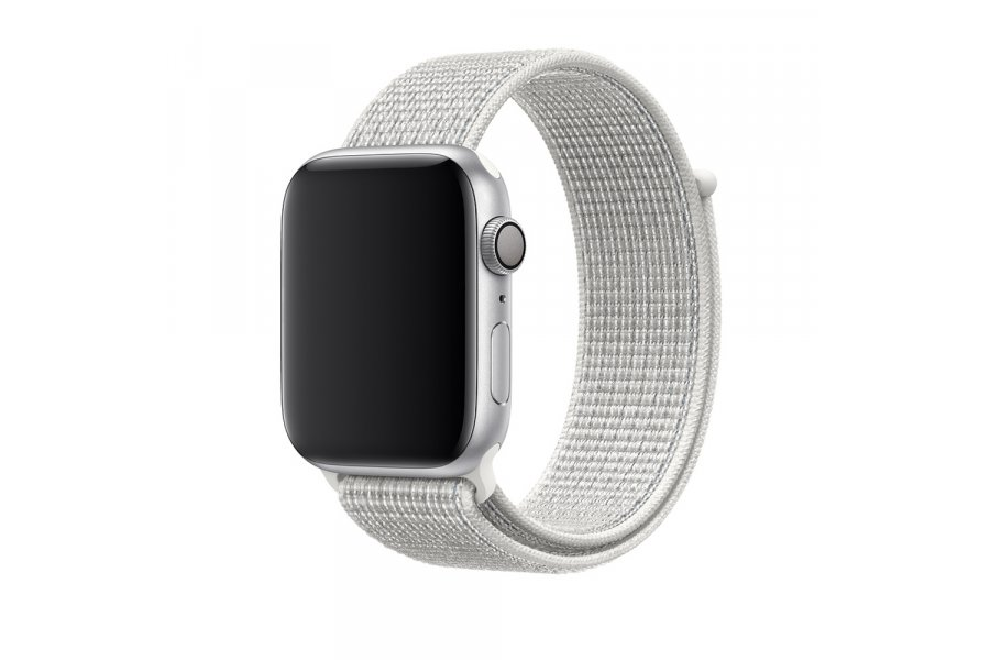 Ремешок для Apple Watch 38/40/42/44mm Sport Loop Nike Summit White