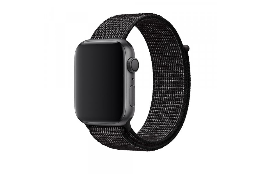 Ремешок для Apple Watch 38/40/42/44mm Sport Loop Nike Black