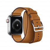 Ремешок для Apple Watch 38/40/42/44mm Hermes Double Tour Brown