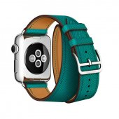Ремешок для Apple Watch 38/40/42/44mm Hermes Double Tour Green