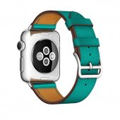 Ремешок для Apple Watch 38/40/42/44mm Hermes Single Tour Green