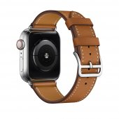 Ремешок для Apple Watch 38/40/42/44mm Hermes Single Tour Brown