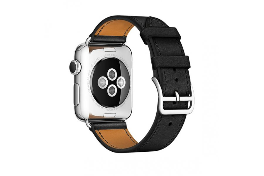 Ремешок для Apple Watch 38/40/42/44mm Hermes Single Tour Black