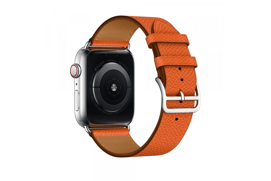 Ремешок для Apple Watch 38/40/42/44mm Hermes Single Tour Orange