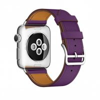 Ремешок для Apple Watch 38/40/42/44mm Hermes Single Tour Purple