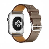 Ремешок для Apple Watch 38/40/42/44mm Hermes Single Tour Taupe