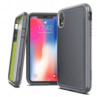 Чехол для iPhone XR Серый Case Defense Ultra