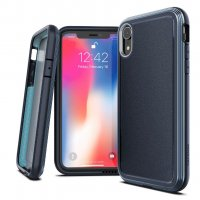 Чехол для iPhone XR Синий Case Defense Ultra