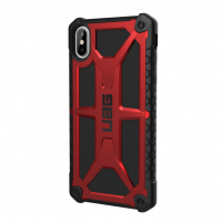Чехол UAG Monarch Case для iPhone XS Max Crimson