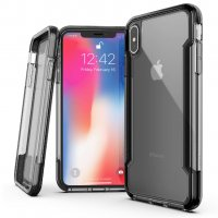Чехол iPhone XS Max Grey Case Defense Shield
