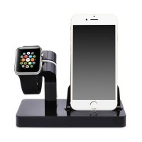 Док-станция CinkeyPro Charger Dock для Apple Watch и iPhone Black