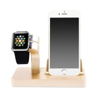 Док-станция CinkeyPro Charger Dock для Apple Watch и iPhone Gold