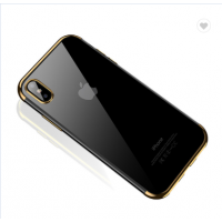 Чехол Silicone Case CAFELE iPhone X/XS Gold