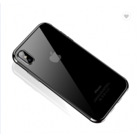 Чехол Silicone Case CAFELE iPhone X/XS Silver