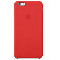 Кожаный чехол Apple Leather Case для iPhone 6/6s Plus Red