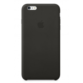Кожаный чехол Apple Leather Case для iPhone 6/6s Black