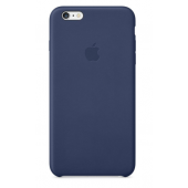 Кожаный чехол Apple Leather Case для iPhone 6/6s Midnight Blue