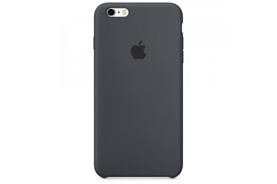 Силиконовый чехол Apple Silicone Case для iPhone 6/6s Plus Charcoal Grey