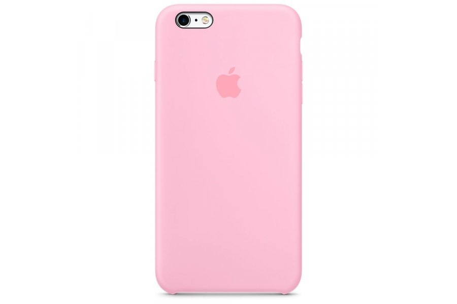 Силиконовый чехол Apple Silicone Case для iPhone 6/6s Plus Light Pink