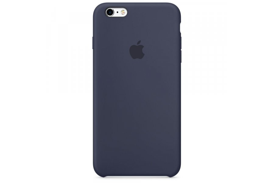 Силиконовый чехол Apple Silicone Case для iPhone 6/6s Plus Midnight Blue