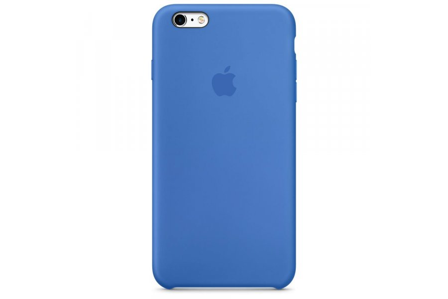 Силиконовый чехол Apple Silicone Case для iPhone 6/6s Plus Royal Blue