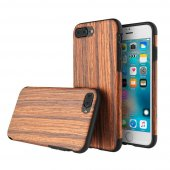 Чехол ROCK Origin Series (Grained) для iPhone 7/8 Padauk